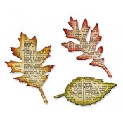 Sizzix Bigz Die: Tattered Leaves 656927