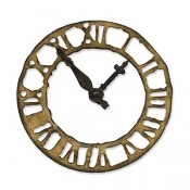 Sizzix Bigz Die: Weathered Clock 657190