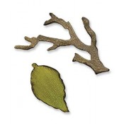 Sizzix Movers & Shapers Magnetic Die - Mini Branch & Leaf Set 657208