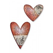 Sizzix Movers & Shapers Magnetic Die - Mini Hearts Set 657212