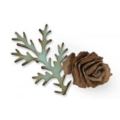 Sizzix Bigz Die - Tattered Pinecone 657492