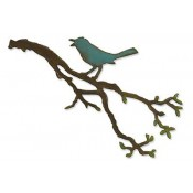 Sizzix Bigz Die: Bird Branch 657833