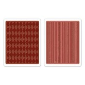 Sizzix Embossing Folders - Harlequin & Stripes Set 657849