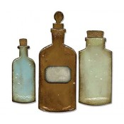 Sizzix Bigz Die - Apothecary Bottles 658715