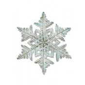 Sizzix Bigz Die w/ Texture Fade: Layered Snowflake 660040