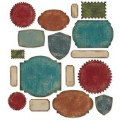 Sizzix Thinlits Die Set: Labels 660060