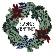 Sizzix Die & Stamp Set - Season's Greetings 660064