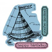 Sizzix Die & Stamp Set - Birthday Blueprint 659882