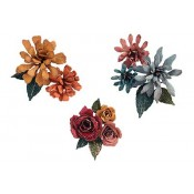 Sizzix Thinlits Die Set: Tiny Tattered Florals 660227