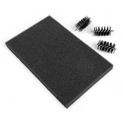 Sizzix Replacement Die Brush Heads & Foam Pad - 660514