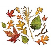 Sizzix Thinlits Die Set - Fall Foliage 660955