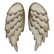 Sizzix Bigz L Die: Feathered Wings 660990