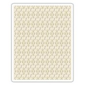 Sizzix Embossing Folder - Argyle 660996