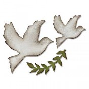Sizzix Bigz Die: Enchanted Doves 661607