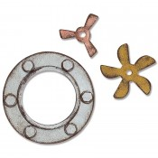 Sizzix Bigz Die: Steampunk Parts 664185