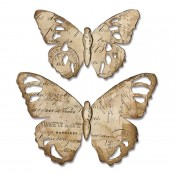 Sizzix Bigz Dies: Tattered Butterfly 664166