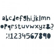 Sizzix Bigz XL Alphabet Dies: Cutout Lowercase 662708