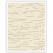 Sizzix Texture Fades Embossing Folder: Birch 662431