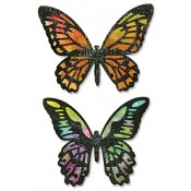 Sizzix Thinlits Die Set - Detailed Butterflies 661182