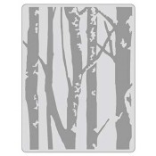 Sizzix Embossing Folder - Birch Trees 661405