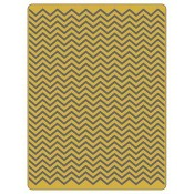 Sizzix Texture Fades Embossing Folder: Chevron 661362