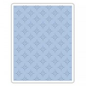 Sizzix Texture Fades Embossing Folder: Star Bright 661611