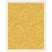 Sizzix Texture Fades Embossing Folder: Flourish 661822