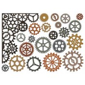 Sizzix Thinlits Die Set - Gearhead 661184