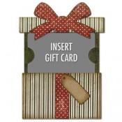 Sizzix Thinlits Die Set: Gift Card Package 662417