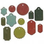 Sizzix Thinlits Die Set: Gift Tags 662423