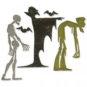 Sizzix Thinlits Die Set: Ghoulish 663091