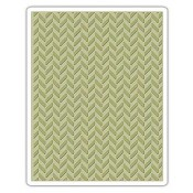 Sizzix Embossing Folder - Herringbone 661200