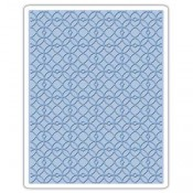 Sizzix Embossing Folder: Latticework 661825