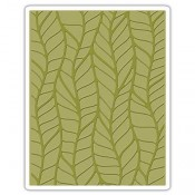 Sizzix Embossing Folder: Leafy 661826