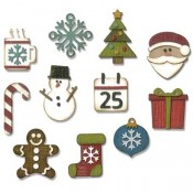 Sizzix Thinlits Die Set: Mini Christmas Things 662418