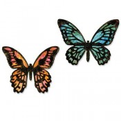 Sizzix Thinlits Die Set: Mini Detailed Butterflies 661802