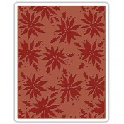 Sizzix Embossing Folder: Poinsettias 662433
