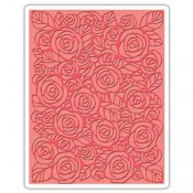 Sizzix Embossing Folder: Roses 661829