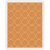 Sizzix Embossing Folder: Rosettes 662391