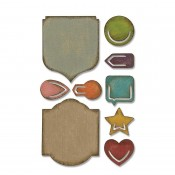 Tim Holtz Sidekick Side-Order Set: Noted 664150