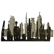 Sizzix Thinlits Die Set: Cityscape Skyline 661810