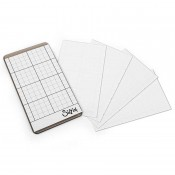 "Tim Holtz Sizzix Sticky Grid Sheets: 2 1/4"" x 4 1/2"" 663534"
