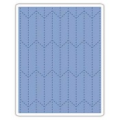 Sizzix Texture Fades Embossing Folder: Tailored 661204