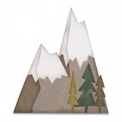 Sizzix Thinlits Die Set: Alpine 664225