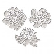 Sizzix Thinlits Die Set: Cutout Blossoms 664161