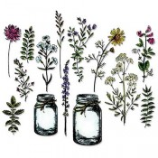 Sizzix Framelits Die Set - Flower Jar 662270