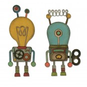 Sizzix Thinlits Die Set: Robotic 664162