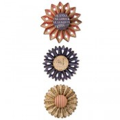 Sizzix Thinlits Die Set: Rosette Set 662691