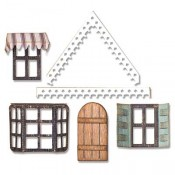 Sizzix Thinlits Die Set: Village Fixer Upper 662699