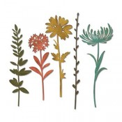 Sizzix Thinlits Die Set: Wildflower Stems #2 664164
